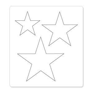 Stars One Size Sizzix Bigz Die 656339