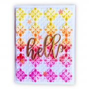 How to make a Hello Tileable Card
