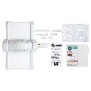 Sizzix Big Shot Starter Kit (Gray & Rose Gold) w/Standard Platform