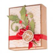 Seasonal Scroll Gift Wrap