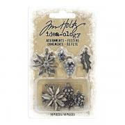 Idea-ology Adornments Festive - Tim Holtz