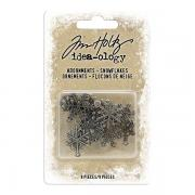 Idea-ology-  Adornments Snowflakes by Tim Holtz
