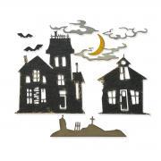Sizzix Thinlits Die Set 8PK - Ghost Town #2 by Tim Holtz
