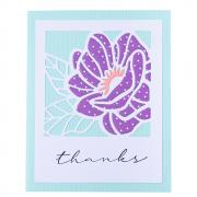 Floral Front Card