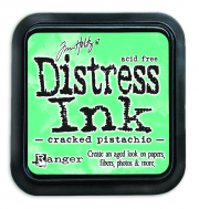 Ranger Cracked Pistachio Distress Pad - Tim Holtz
