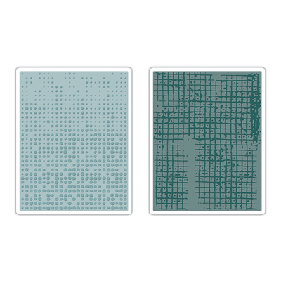 Sizzix Texture Fades Embossing Folders