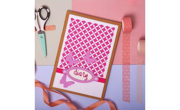 Easy DIY Girly diary (VIDEO)