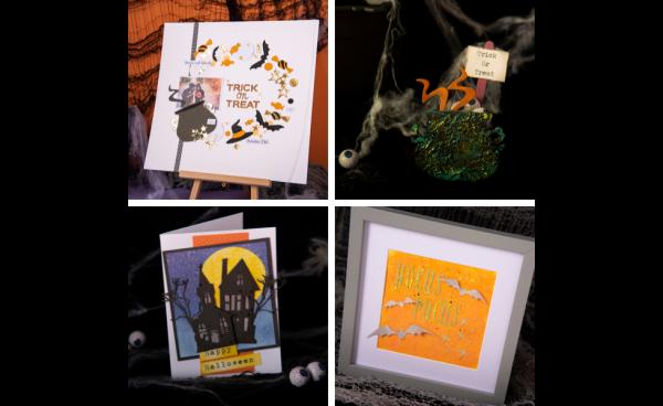 Spooktacular Halloween Party DIY's Using Tim Holtz® Dies