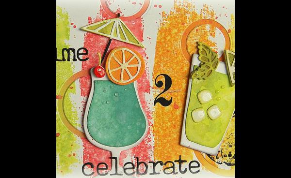 Happy Hour Celebration Card By Kath Stewart