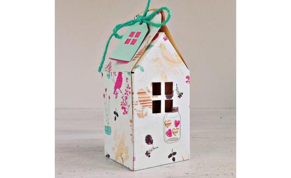 House Gift Box Tutorial - VIDEO