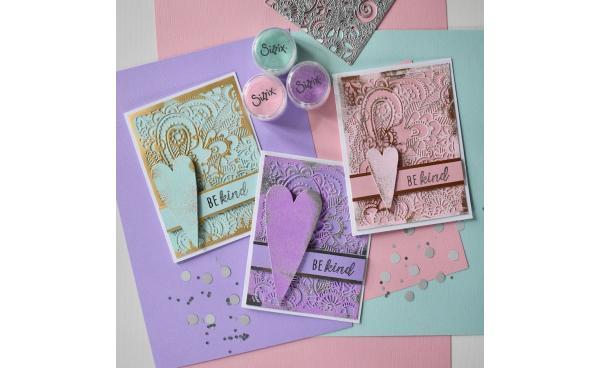 Heat Embossed Opulent Cards