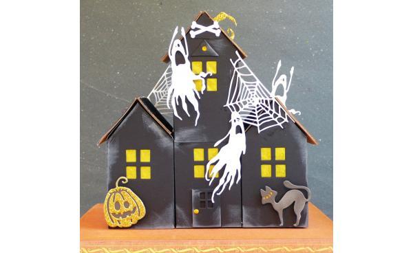 DIY Halloween Haunted House - VIDEO