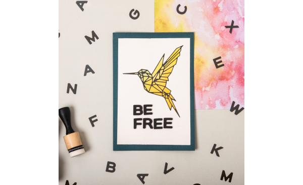 Be Free cardmaking (VIDEO)