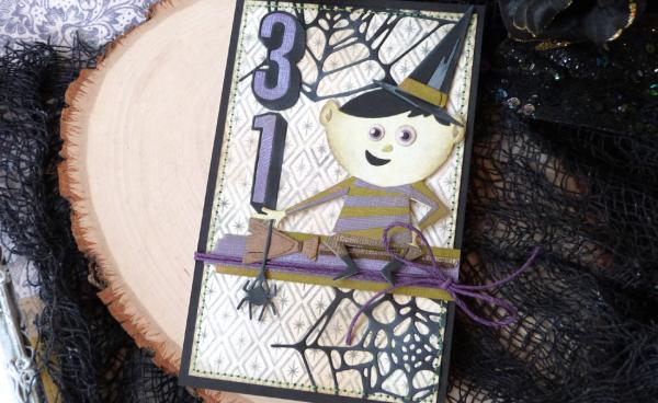 An Oct 31 Trick or Treater with Tim Holtz Chapter 3