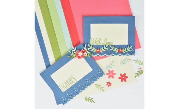 Craft a Card filled with Love & Lace!