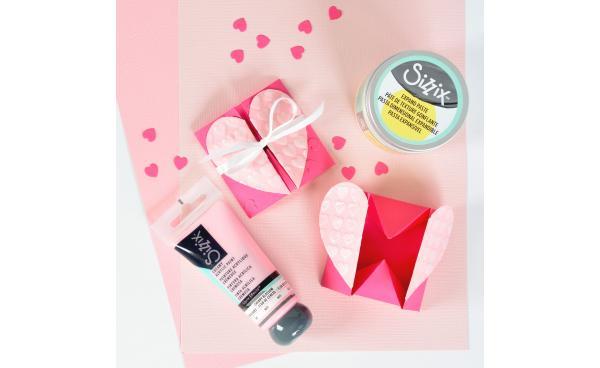 Craft A Kind Sizzix Heart Box!