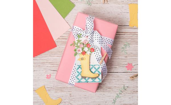 DIY spring gift tag (VIDEO)