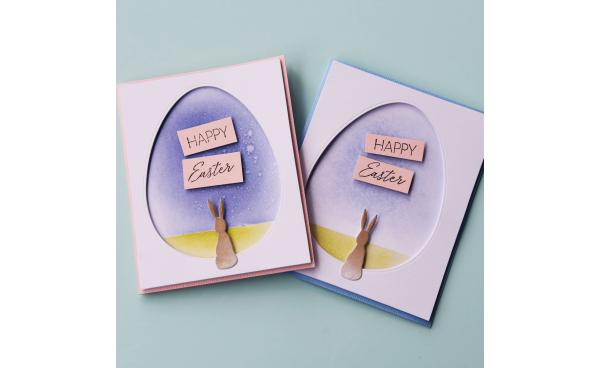 Happy Easter Bunny Card