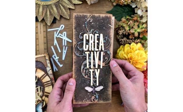 Creativity Mixed Media Album (Video