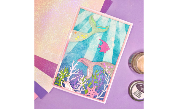 Mystical Mermaid Card