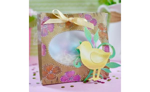 DIY Easter treat bag (VIDEO)