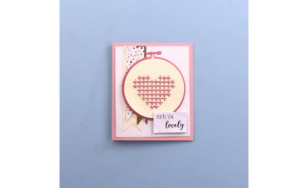 Embroidery Card