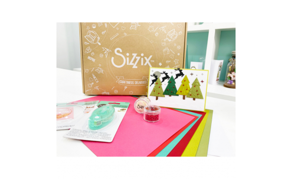 Sizzix Craft Box: September Snow Domes!