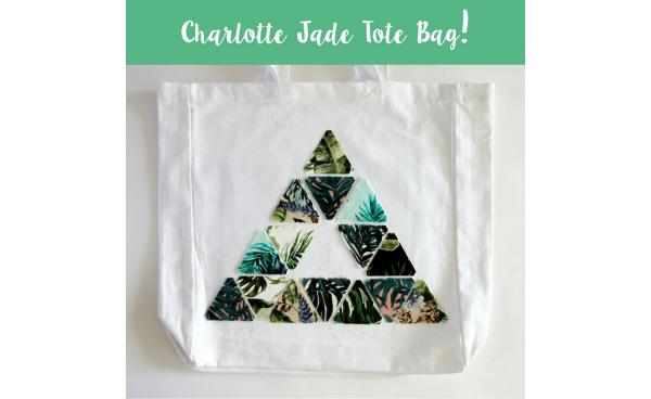 How to make a Tropical Tote Bag with Charlotte Jade!