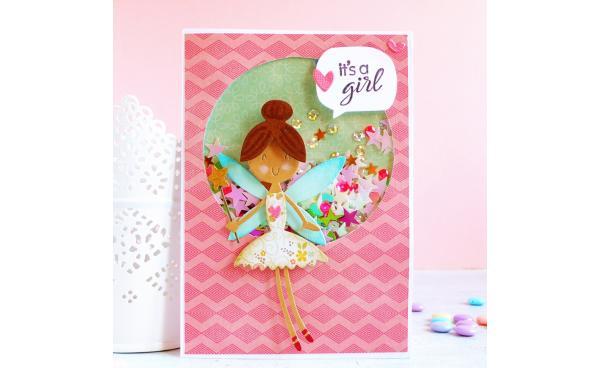 Fantasy Fairy Shaker Card - VIDEO