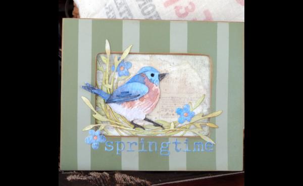 Springtime Frame by Audrey Pettit