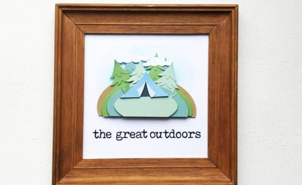 'Great Outdoors' frame