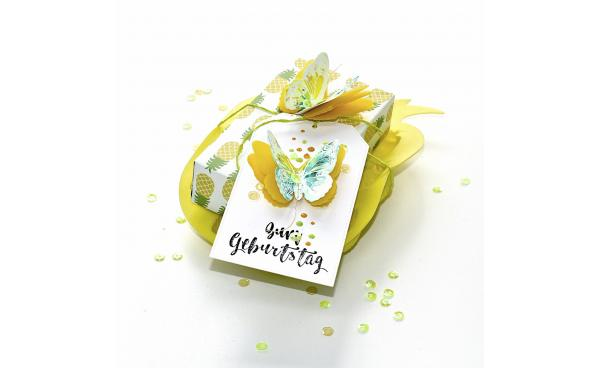 Wild Butterfly Tag