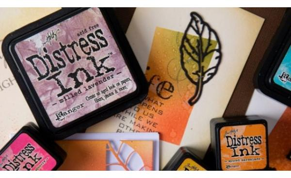 How to use: Tim Holtz Distress Inks VS Tim Holtz Distress Oxide Inks