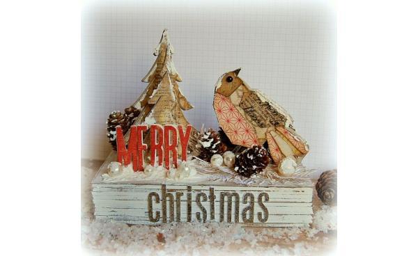 Nordic Christmas Decor by Kath Stewart