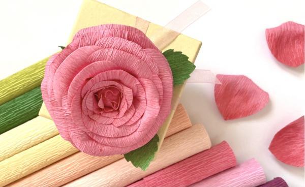 Sizzix Crepe Paper Rose